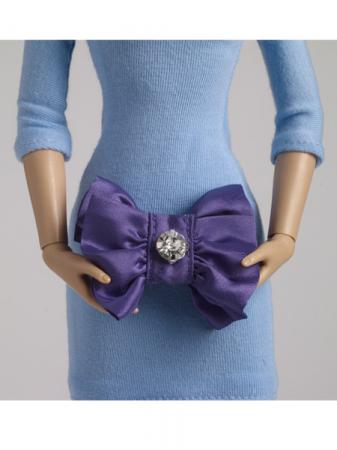 TNM0087 Tonner Nu Mood Purple Fashion Doll Purse 2012