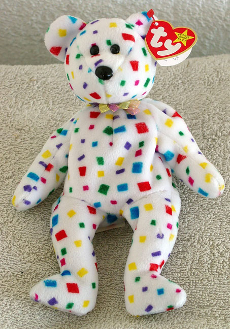 TBB0162 Ty 2K the Teddy Bear Beanie Baby 1999 62abe8e02533
