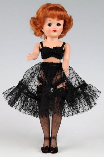 VOG2793 Vogue Jill Doll Black Lingerie Pack Only, 2011