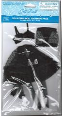 VOG2793 Vogue Jill Doll Black Lingerie Pack Only, 2011 1